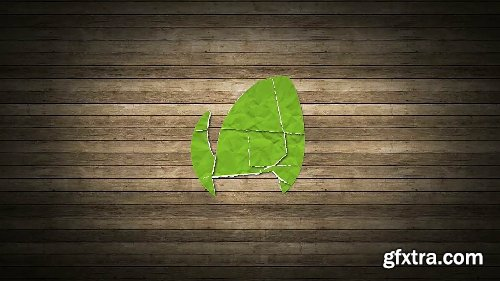 Videohive Collage Logo Reveal 8690037