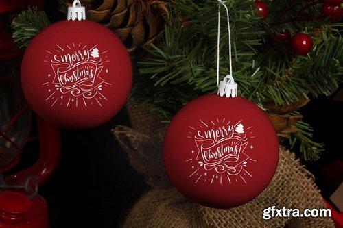Christmas Ball Mock Up