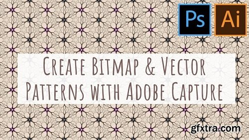 Create Patterns in Adobe Capture for Illustrator & Photoshop