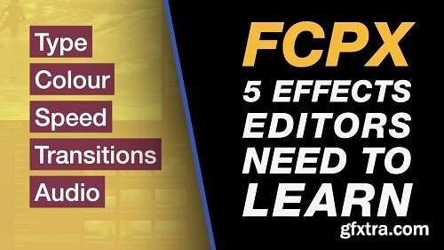 Final Cut Pro X - 5 Essential Effects that Every Video Editor Needs to Know