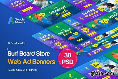 Surf Board Banners Ad v01