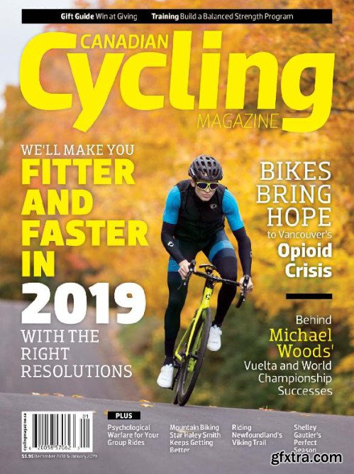 Canadian Cycling  December/January 2018