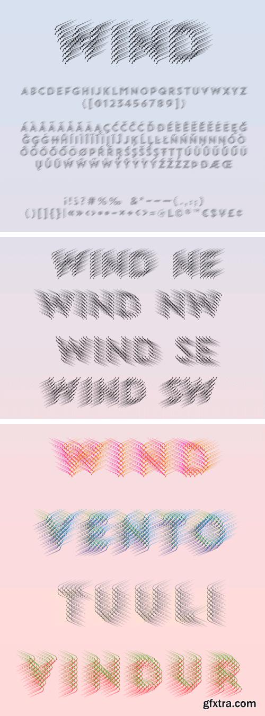 Wind Pro Font Family - Latin, Greek, Cyrillic