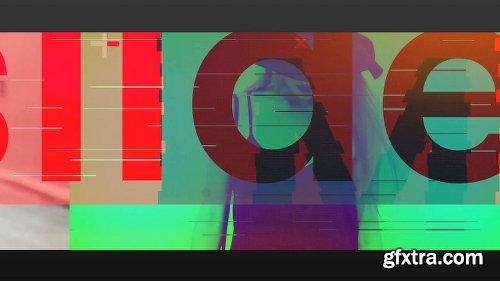 Videohive Modern Glitch Slide 20309413