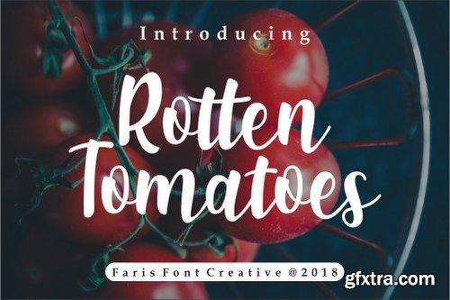 FontBundles Rotten Tomatoes Font