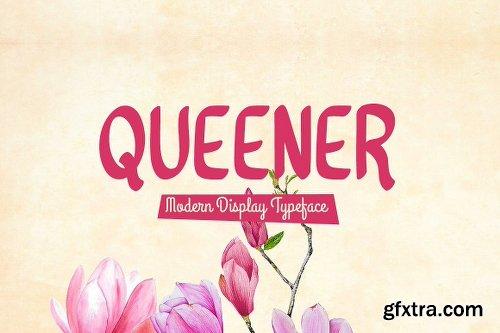 CreativeMarket Queener Typeface 3107839