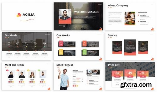 Agilia - Business Powerpoint Template