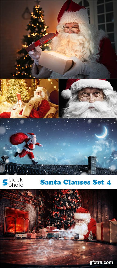 Photos - Santa Clauses Set 4