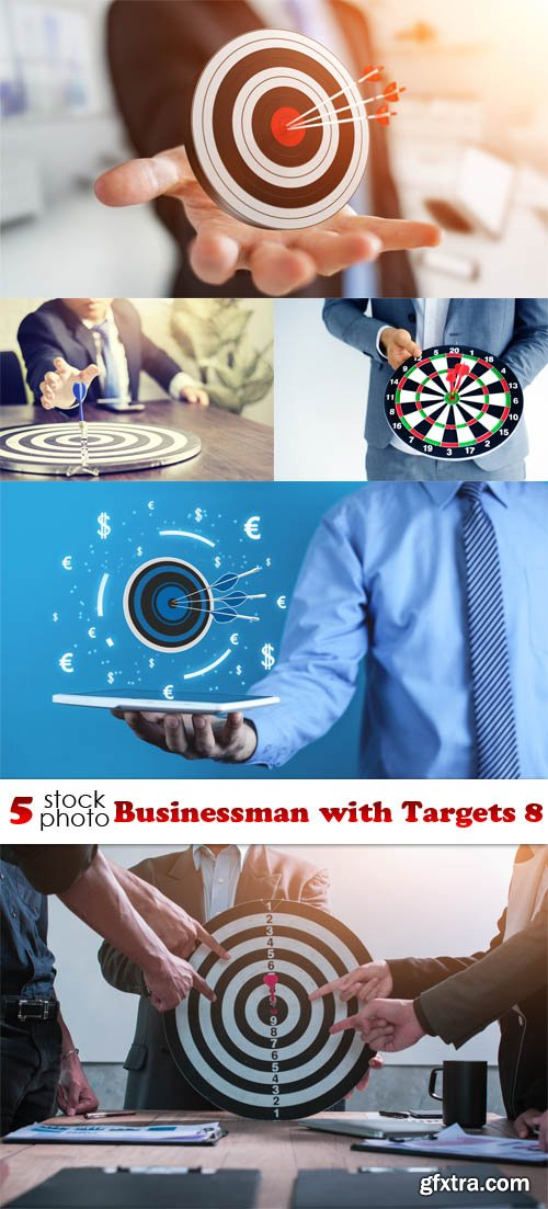 Photos - Businessman with Targets 8