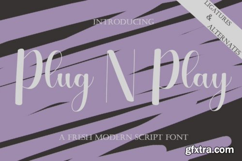 Plug N Play Font