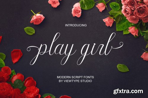 Play Girl Font
