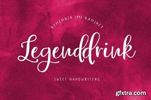 FontBundles Legenddrink Font