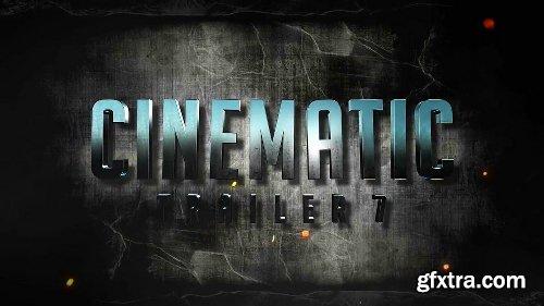 Videohive Cinematic Trailer 7 20317621