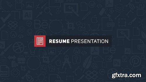 Videohive Resume Presentation 15929594