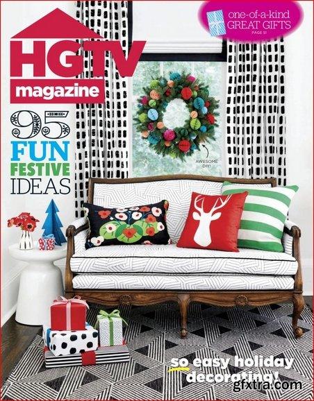 HGTV Magazine - December 2018