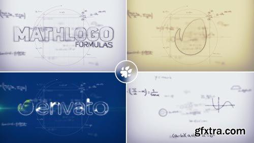 Videohive - Math Formulas Logo Reveal - 19564497