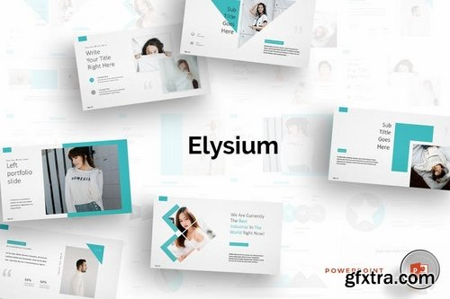 Elysium - Powerpoint Keynote and Google Slides Template