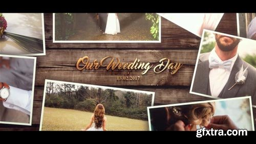 Videohive - Wedding Gold Slideshow - 20175077