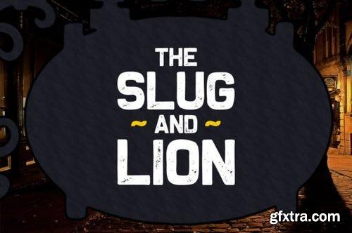 The Slug and Lion Font