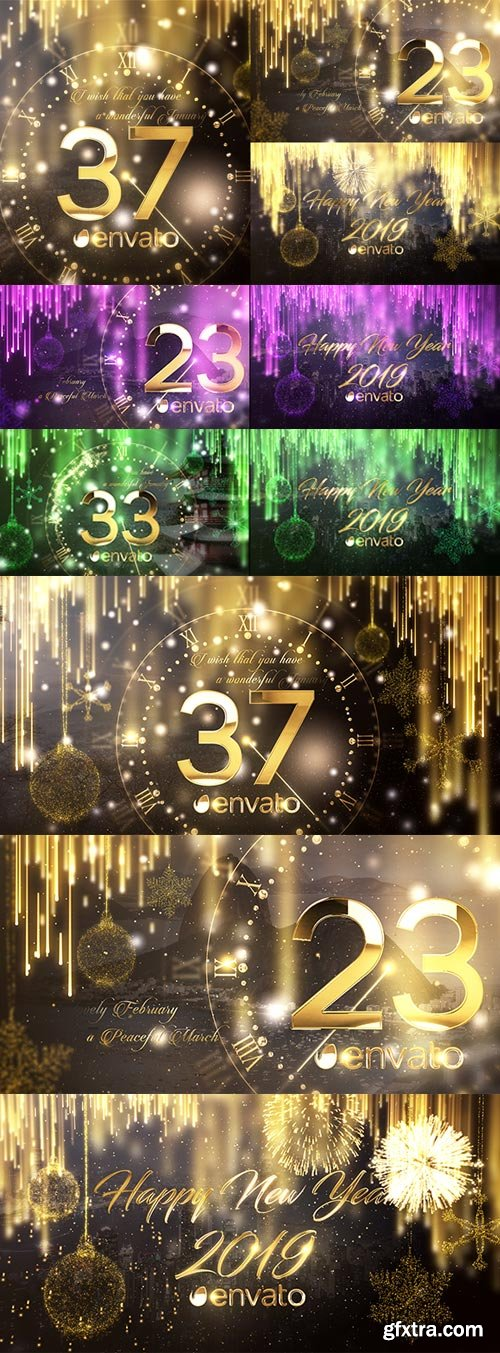 Videohive - New Year Countdown 2019 - 22839702