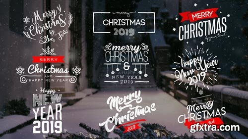 Videohive - Christmas Titles - 22831974