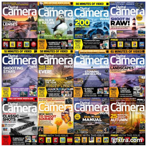 Digital Camera World - Full Year Collection 2018