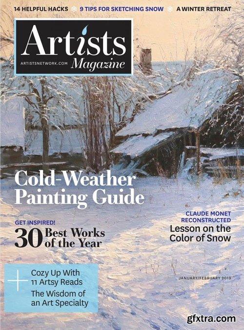 The Artist\'s Magazine - January 2019
