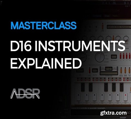 ADSR Sounds D16 Instruments Explained TUTORiAL-SYNTHiC4TE