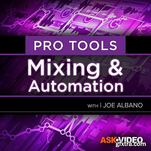 Ask Video Pro Tools 104 Mixing and Automation TUTORiAL-SYNTHiC4TE