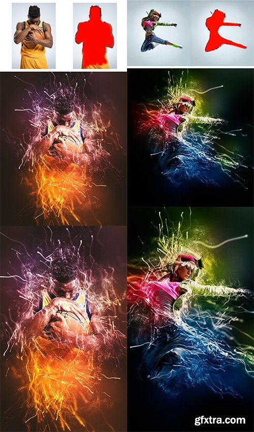 Graphicriver Gif Animated Particle Explosion Photoshop Action 22787201