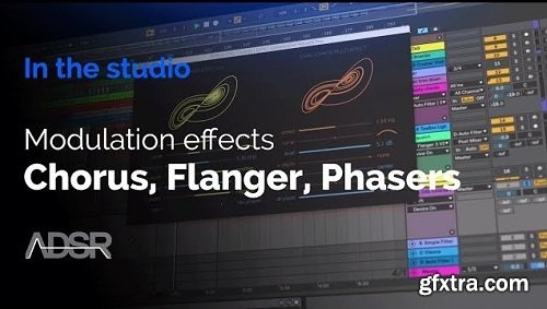 ADSR Sounds Modulation Effects Chorus Flanger Phasers TUTORiAL-SYNTHiC4TE