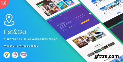 ThemeForest - ListGo v1.9.0 - Directory WordPress Theme - 20254260