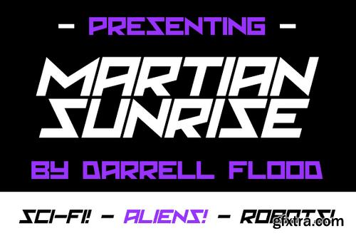 Martian Sunrise Font