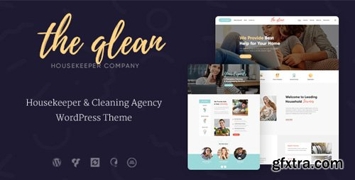 ThemeForest - The Qlean v1.1.0 - Cleaning Company WordPress Theme - 20860544