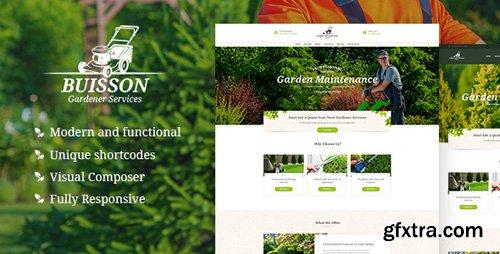 ThemeForest - Buisson v1.0 - Gardening WordPress Theme - 21148837