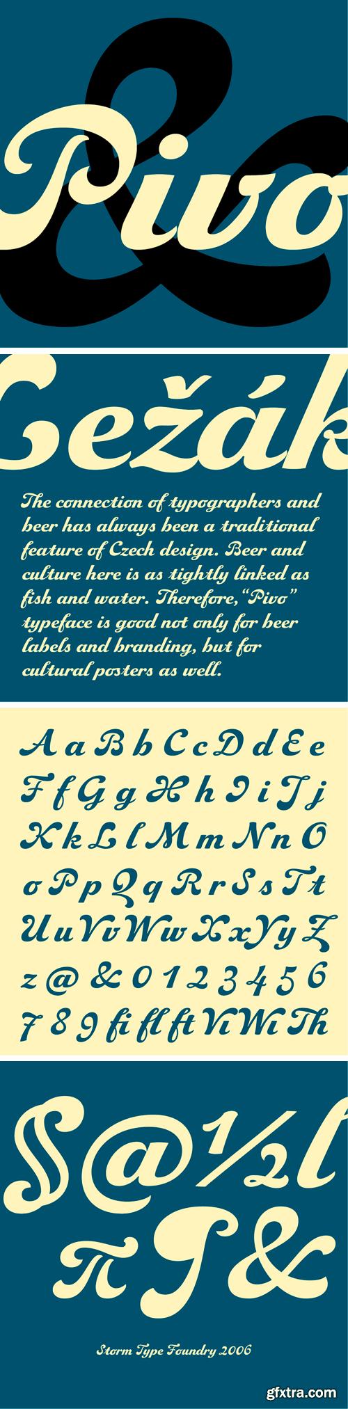 Pivo Font Family