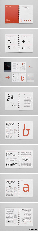Kinetic Font Family
