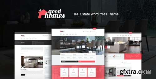 ThemeForest - Good Homes v1.3.1 - A Contemporary Real Estate WordPress Theme - 20310035
