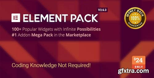 CodeCanyon - Element Pack v2.6.3 - Addon for Elementor Page Builder WordPress Plugin - 21177318