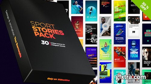 Videohive Sport Stories Pack 22800511