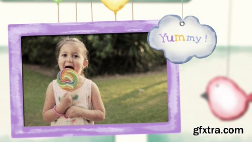 Videohive Baby Kids Photo Slideshow 22568248