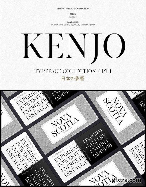 KENJO FONTS  PT I
