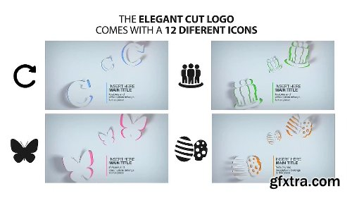 Videohive Elegant Cut Logo 11443639