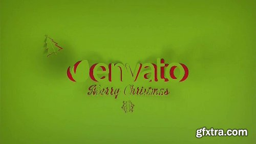 Videohive Christmas Greetings Paper 13698882
