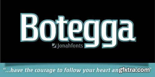 Botegga Font Family - 4 Fonts