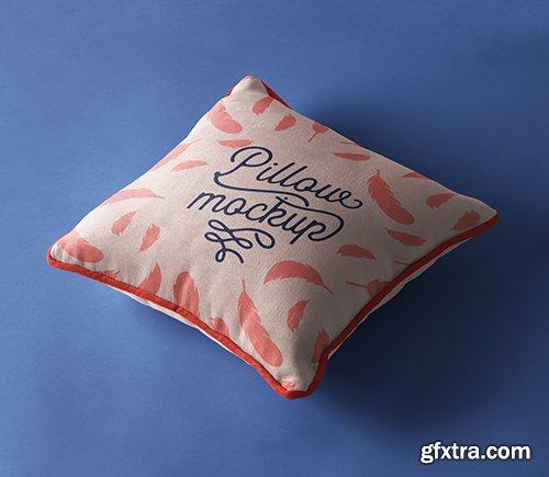 Psd Pillow Mockup Presentation Vol 4