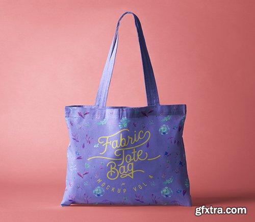 Psd Tote Bag Fabric Mockup Vol 4
