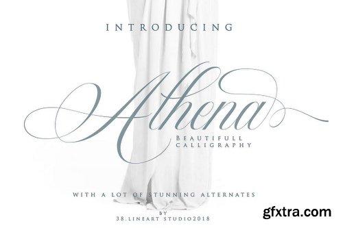 Fontbundles Athena Font