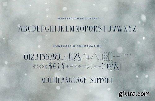 Wintery Family Font Family - 3 Fonts