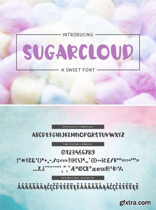 SugarCloud Font